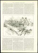 1888 - Antique Print HUNTING SEASON Horse Ward Union Hounds    (071)