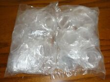 Lot of 50 Beanie Baby Clear plastic Heart Shaped Locket Tag Protectors, NEW