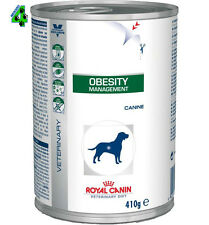 ROYAL CANIN 24 barattoli OBESITY 410 gr alimento umido per cani obesi cane obeso