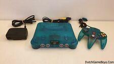 Nintendo 64 Ice Blue - Nintendo 64 Console - N64