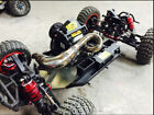 Losi XL DBXL RCMK XCR Desert Gas Buggy Truck Steel Tuned Exhaust Pipe USA Seller