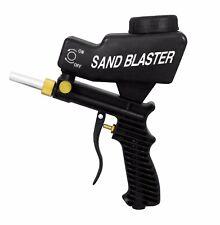 Gravity Feed Portable Pneumatic Abrasive Sandblasters Gun Remove Spot Rust Black