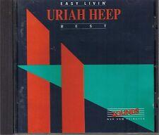 Uriah Heep Easy Livin' (Best of) Zounds CD  RAR