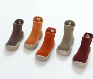 Baby Shoes like Socks 10-18m in 10 Colours- Anti-Slip Sole Ideal for First Steps