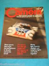 YOU AND YOUR CAMERA #44 - MOTOR SPORTS