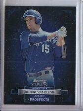 BUBBA STARLING 2012 BOWMAN STERLING PROSPECT