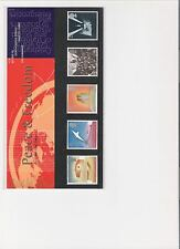 1995 ROYAL MAIL PRESENTATION PACK PEACE & FREEDOM MINT DECIMAL STAMPS
