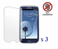3 x Anti-Glare Screen Protector For Samsung Galaxy SIII S3 i9300/T999/i535​/L710