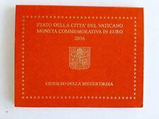 2016 Vaticano 2 Euro Commemorativo Giubileo Misericordia Francesco FDC Folder