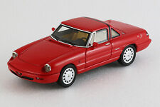 Alfa Romeo Spider 1990 4a serie Hardtop - 1/43ème - Rouge - Milena Rose