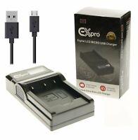 Battery Charger For P@ DMW-BLC12 DMW-BLC12E DMC-FZ200 DMC-G5 G6