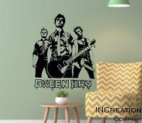 Green Day Portrait Vinyl Wall Decal Punk Rock Band Billy Joe Armstrong Sticker