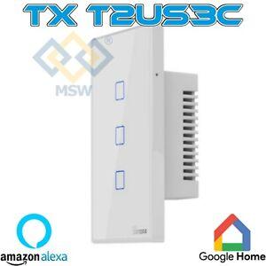 SONOFF TX T2US3C Interruttore Smart a parete Wifi TRE tasti con RF Cassette 503