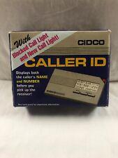 Cidco Caller Id w/ blocked call & call lights