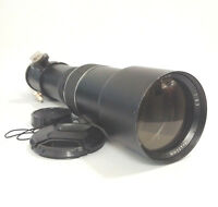 [TESTED] [VGC] Weltblick 400mm f/6.3 Telephoto Camera Lens Φ60(?) - T2 Mount