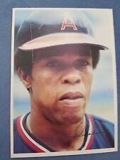 ROD CAREW baseball card giant 1980 Topps #12 size 5x7  California Angels