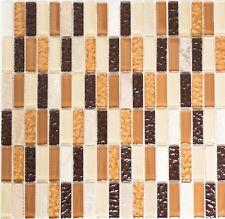 1qm pierre carrelage Leon h688 MARBRE pierre naturelle-Carreau 11 pièces crème-gris
