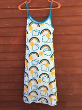 NWT Nanso Pride Women's Rainbow Sun Dress Size Medium Cotton Jersey