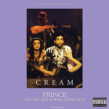 """Prince 12"""" Cream Ep. Extended + Remixes 2017 Vinyl + Promo Sheet"""