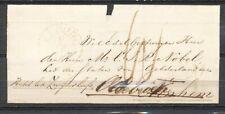 OVAAL 'AFGESCHREVEN ARNHEM' OP AZ.OMSLAG ELBURG 8/11 1857,DOORGEZ.-OLDE- ZA200