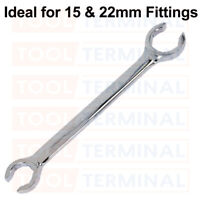 PROFESSIONAL TOOLS PLUMBERS SPLIT RING COMPRESSION FITTING SPANNER 15MM22MM SCSR