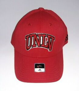 UNLV Rebels 3D Embroidered Hat Flex fit Fitted Cap L/XL
