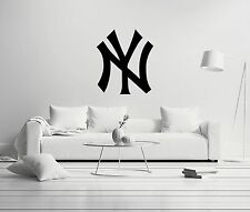 New York Yankees MLB X-Large Wall Decal Decor For Home Car Laptop Sports