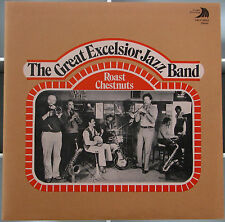 THE GREAT EXCELSIOR JAZZ BAND  Roast Chestnuts  LP Album 1979  Voyager  Seattle
