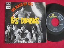 PORTUGAL 45 PS - LOS DIABLOS - UN RAYO DE SOL / UNA MANANA - PARLOPHONE