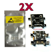 2 X New Micro USB Charging Sync Port For Samsung Galaxy Young Duos GT-S6312 USA