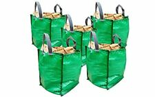 Garden Waste Bags A&A Supplies - 5 x 120 Litre - Sacks - With Handles - Heavy