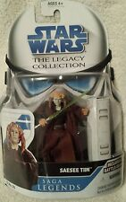 STAR WARS The Legacy Collection  SAESEE TIIN Includes Battle Gear Action Figure