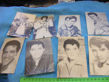 Lot of 8 diff. 1960s Original  ELVIS Arcade Cards.