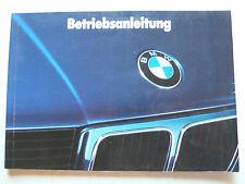 Manual de instrucciones-BMW e34 - 520i, 525i, 530i, 535i, 524td, 8.1988, 124 páginas