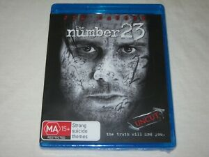 The Number 23 - Jim Carrey - Brand New & Sealed - Region B - Blu Ray