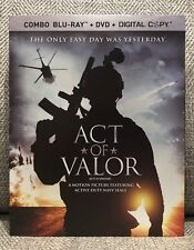 ACT OF VALOR blu ray + DVD [CANADA] w/SLIPCOVER NEW & SEALED