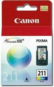 Canon CL-211 Color PRINTER Ink Cartridge Pixma NEW IN BOX
