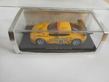 Spark Corvette C6R #63 Le Mans 2006 in Yellow on 1:43 in Box
