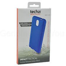 ORIGINAL TECH 21 impacto TÁCTICA D30 Funda para Samsung Galaxy Note 3 - Azul