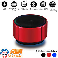 Wireless Bluetooth Mini Super Bass Speaker For Samsung Phone Tablet Laptop PC
