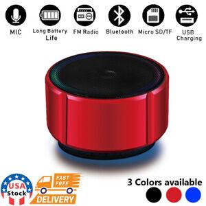 Wireless Bluetooth Mini Super Bass Speaker For Samsung Phone Tablet Laptop PC