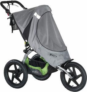 BOB NWT Sun Shield for Sport Utility Single Stroller Ironman S01755600 Gray