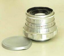 INDUSTAR-26m I-26m 2.8/5cm 50mm lens M39 Rangefinder RED P 10-blades #851077