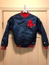 Boston Red Sox Satin Boys Starter Jacket M
