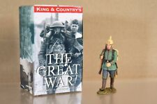 King & Country Fw109 WWI allemand Marcheur Carabinier Soldat avec Picklehaub NV