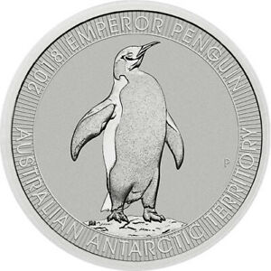 2018 Perth Mint  Emperor Penguin Platinum Coin 1/3 oz Coin .9995 Pure ~~ RARE ~~