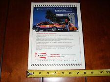 1993 BOB BONDURANT FORD MUSTANG COBRA TREMEC - ORIGINAL AD