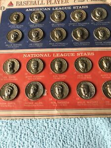 Boston Red Sox-Citgo 1969-Coin Collection COMPLETE SET - Aaron,Rose,Petrocelli