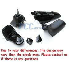 For YAMAHA PW50 PW 50 PLASTIC SEAT GAS TANK KIT BLACK I PS36