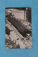 VINTAGE RPPC REAL PHOTO POSTCARD AMUSEMENT PARK TRAIN RIDE